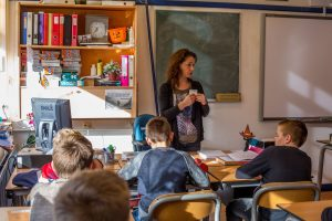 Gastlessen op Biltse scholen krijgen een 'boost' met de verkregen ING-donatie.