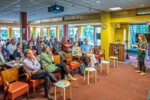 Lunchbijeenkomst 'De Waarde van Voedsel' georganiseerd door Samen voor De Bilt (Foto: Hans Lebbe - De Bilt in Beeld)