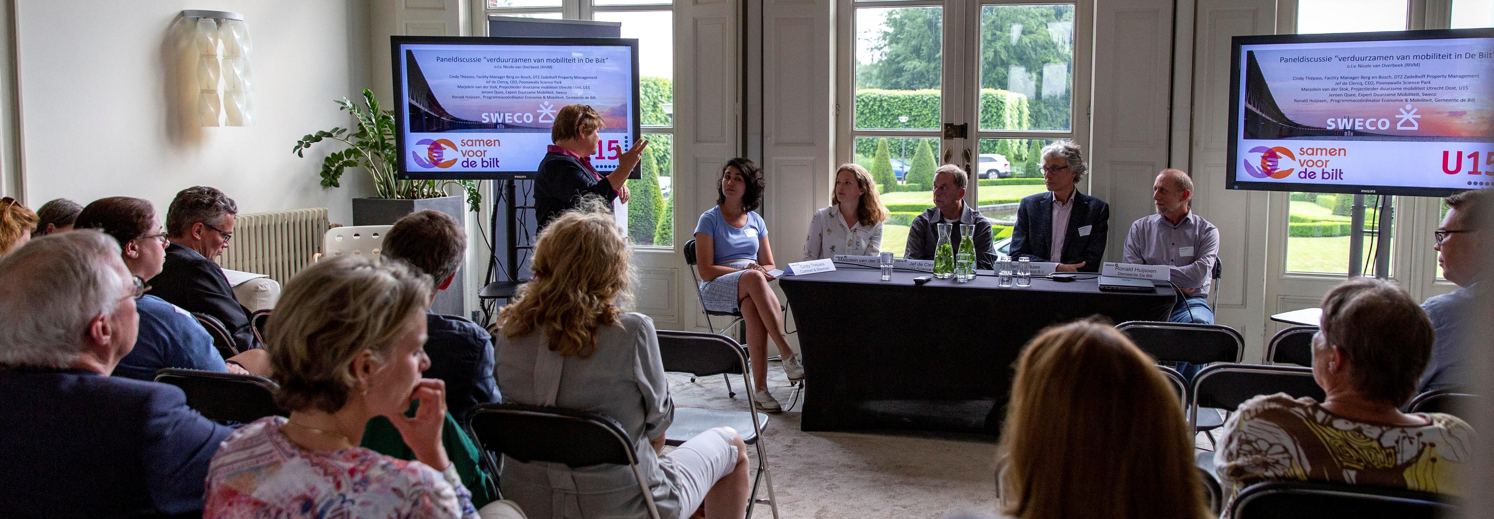 Bijeenkomst 24 mei 2018 - Biltse organisaties gaan voor Duurzame Mobiliteit