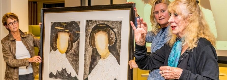 Kunstkring BeeKk De Bilt-Bilthoven exposeert bij Rabobank Rijn en Heuvelrug, 26 september tot en met 26 december 2019 (Foto: © Hans Lebbe, HLP Images).