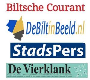 Samen voor De Bilt in lokale media - Biltsche Courant, De Bilt in Beeld, StadsPers en De Vierklank