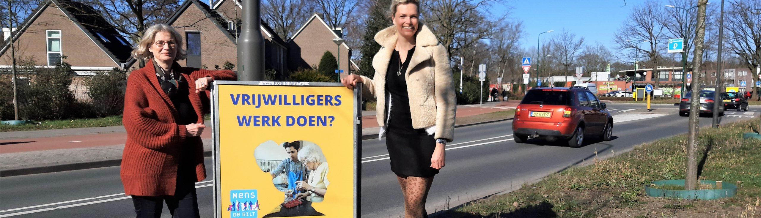 Samen voor De Bilt - ROBIN BEST helpt de Vrijwilligerscentrale in De Bilt