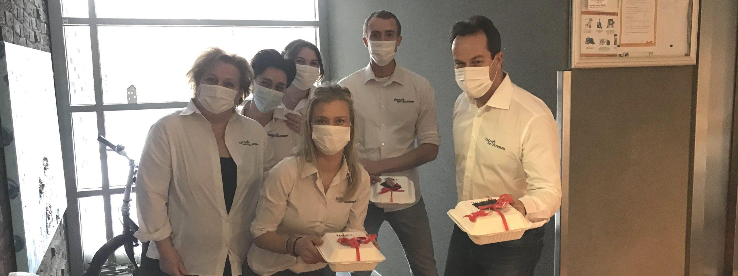 Team Eetcafé Van Miltenburg is Valentijn bij Reinaerde